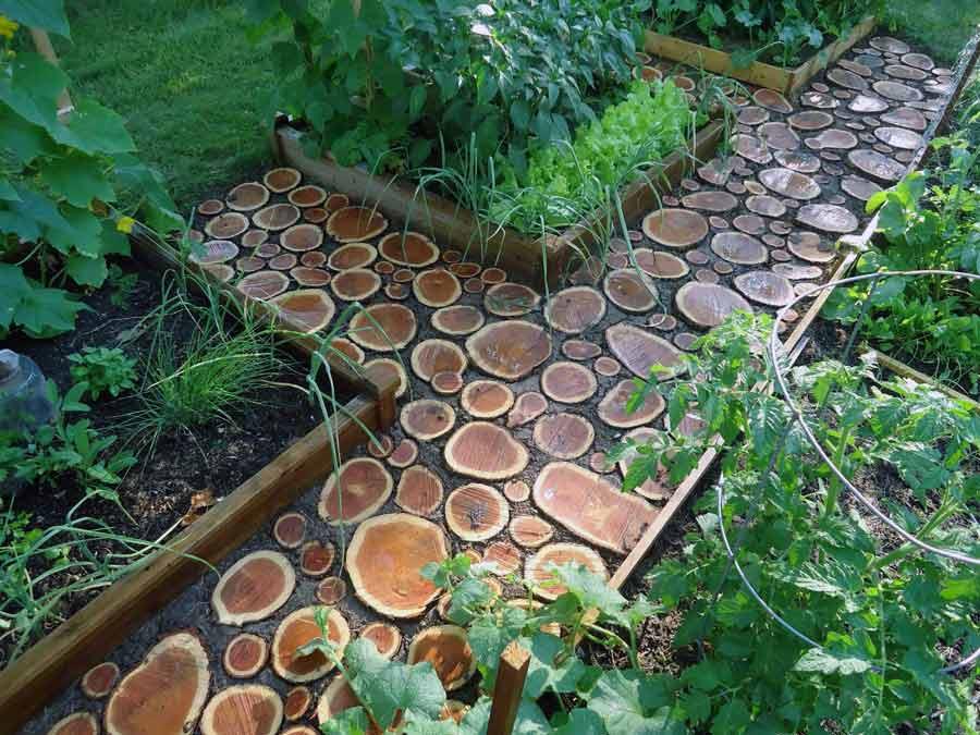 Тротуары в саду своими руками 43