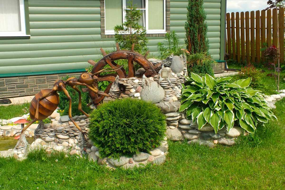 Обустройство садового участка своими руками с чего начать