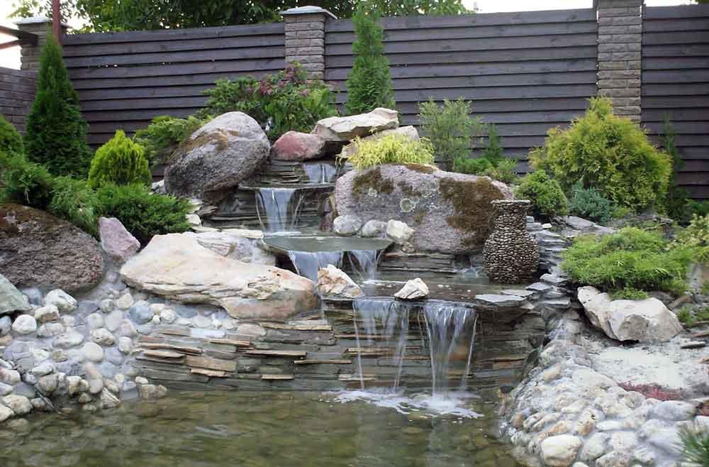 искусственный водопад фото одноместный