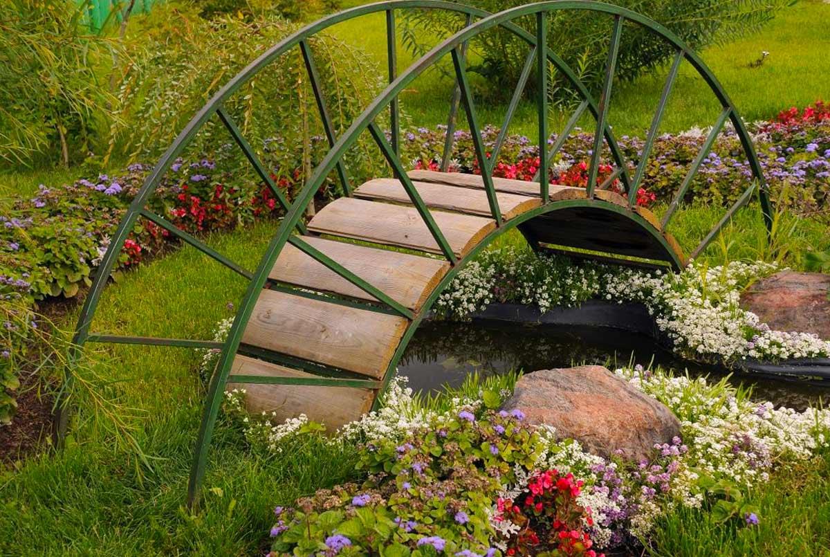 Арочные декоративные мостики